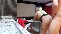 CUCKOLD films wife being penetrated by gifted t...