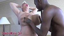 Huge Tit Claudia Marie Beat Down For Interracial Rough Fuck