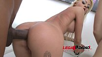 Suzan Ayn & Chloe Lacourt anal 4some with double penetration (DP) SZ854
