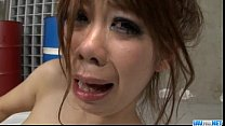 Young Sakura Aragaki fucked hard and made to swallow