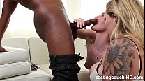 12348 Curvy Blonde charmed into doing porn. preview
