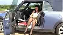 Best British Mom Wanking in Car. See pt2 at goddessheelsonline.co.uk