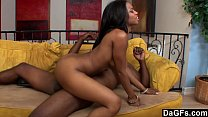 Dagfs - Steamy Black Couple Fucking On The Couch