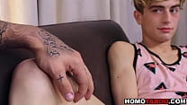 Gay twink fucked by soon to be stepdad