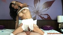 Ladyboy Alis Jerks Off With Raw Dick In The Ass
