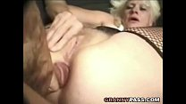 Barbie Face Granny Does Anal With Big Cock pornhub video