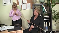 Office sex with nice mature woman Preview