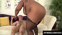Jeffs Models - Chocolate BBW Marliese Morgan Cowgirl Compilation Part 2