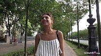 ►► GERMAN SCOUT - CUTE LATINA TEEN SARAH TALK TO ORGASM FUCK AT PICKUP CASTING ◄◄ Vorschaubild