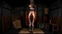 Japanese BDSM . Wooden horse