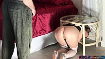 Stuck stepmom gets fucked by stepson - Erin Ele...