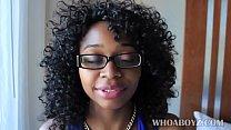 Ebony banks gets fucked hard by bbc video