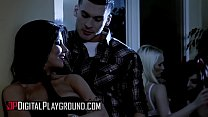 (Clover, Romi Rain) - Hot Chicks Big Fangs - Scene 1 - Digital Playground
