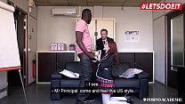 Image: LETSDOEIT - Hardcore Group DP Fun With Big Ass Teen Cutie Anna de Ville