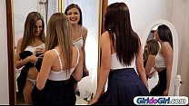 Bffs Kimmy Granger and Adria Rae tribbing and licking pussy