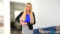 PropertySex - Vacation rental mishap turns into hot sex with busty agent thumbnail