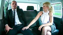 FUCKED IN TRAFFIC - Big ass blonde Barbara Nova...