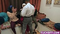 7695 Muslim besties dirty bachelorette party with a stripper preview