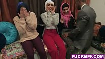 16362 Muslim besties dirty bachelorette party with a stripper preview