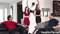 Naughty Girls Rammed by Stepdads