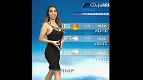 Mexican Weather Girl sex tape oral sex before she was famous - Juarez