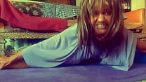 Ginger MoistHer in Thumbs Up! Mine  - hot milf stretching inner thighs, ripped shirt