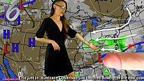 AdalynnX - Fisty The Weather Lady pornhub video