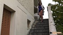 Lactating brunette milf ass-fucked outdoor thumbnail
