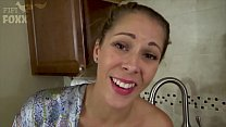 Mom's Hand Gets Stuck in Sink & Son Molests Her - Forced Sex, POV, MILF - Nikki Brooks صورة