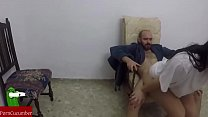 Fucking in the rocking chair. Homemade voyeur taped with a hidden spycam RAF054