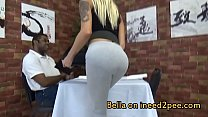 Bella Ink needs to pee wetting her panties