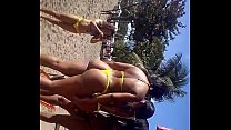 Hot babes on the beach