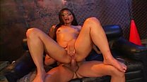 Lusty Asian whore deep throats a guy then sits on his pole like apro