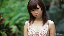 Shy Japanese teen angel first time erotic outdoor tease缩略图