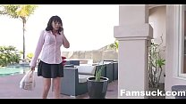 Stuck MILF Fucked By Both Step-Sons| FamSuck.com