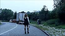 Rubberdoll Monique - On the streets as a rubberwhore (Part 3)