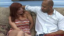 11731 Engaged redhead cheats for huge black cock preview