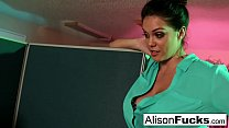 Capri Cavanni caught on a sexy call by her Boss Alison Tyler