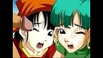 Dragon Ball Z - Fucking with Pan and Bulma/ Fodendo com a Pan e a Bulma's Thumb