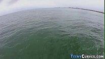 Teens Booty Jiz zed At Sea