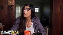BANGBROS - Epic Mia Khalifa Big Black Dick Threesome On Monsters Of Cock!