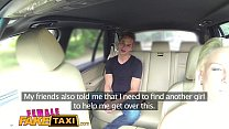 Female Fake Taxi Busty blonde rides studs cock and takes a facial Preview