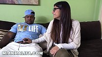 MIA KHALIFA - Busty Arab Beauty Tries A Big Black Dick And Likes It Preview