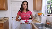 Latina maid has a great body