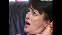 Mature Mom Gets creampie from son