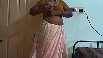 Indian Hot Mallu Aunty Nude Selfie And Fingering For  father in law ภาพขนาดย่อ