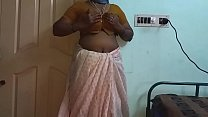 18518 Indian Hot Mallu Aunty Nude Selfie And Fingering For  father in law preview