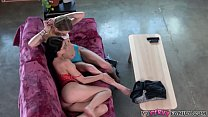14824 Dad Catches Daughter Making Out with Girl Friend and Fucks Them Both! preview