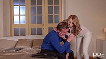 Incredible hot & kinky wife Victoria Daniels ge...