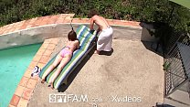 SPYFAM Pervert Stepbro Stalks Step Sister While Sun Bathing Vorschaubild